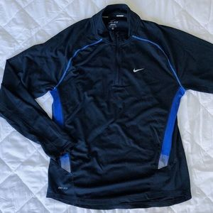 Dri-fit quarter zip